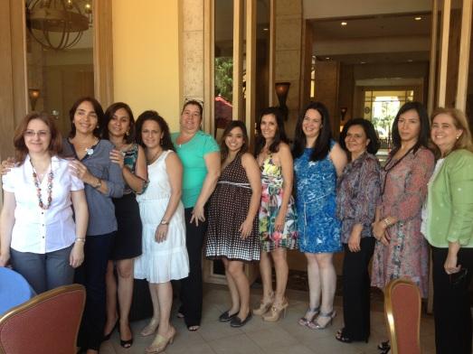 Lovely ladies who organised everything: (from left to right) Josie, Telma, Vera, Nadina, Rose Anne, me, Rita, Grazia, Nina, Gabriela and my mom :)