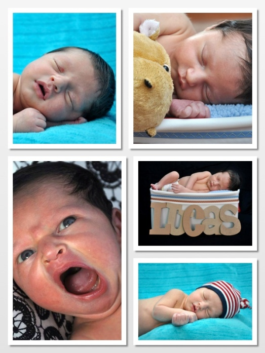 Photoshoot with Lucas when he was 6 days old!